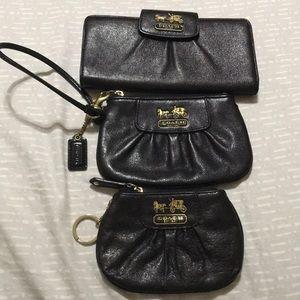 Authentic Coach wallet, wristlet & coin purse.